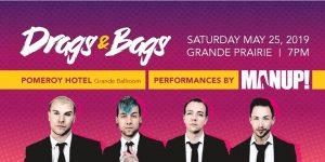 Drags & Bags @ Pomeroy Hotel Grande Ballroom