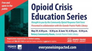 Opioid Education Session @ Grande Prairie Public Library