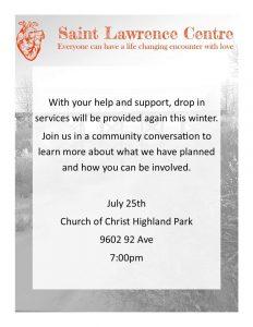 Community Conversation @ Highland Park Church of Christ