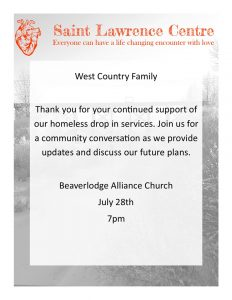 Community Conversation @ Beaverlodge Alliance Church