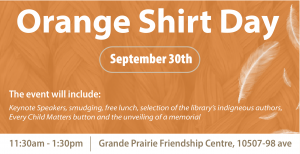 Orange Shirt Day @ Grande Prairie Friendship Centre