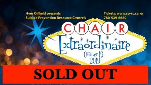 SPRC 9th Annual Chair Extraordinaire Fundraiser @ Jackpot Grill & Events Center
