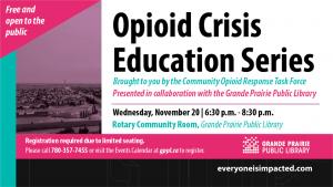Opioid Education Session @ Teresa Sargent Hall