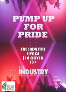Pump up for Pride 2020 @ The Industry Live Entertainment Lounge